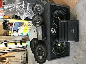Custom Car Stereo (speakers/deck/sub and amp)