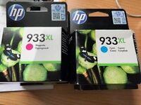 HP BLACK & COLOURED CARTRIDGES