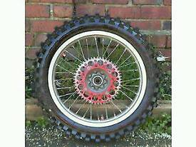 Pirelli off road motorbike wheel