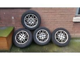 Ford Focus/Fiesta 4 stud 15 inch Alloy Wheels