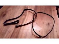 Black Leather Martingale - Used once, excellent condition