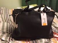 Black leather , Radley handbag, brand new, £ 100.