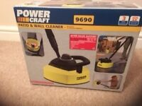 Powercraft patio & wall cleaner- - unopened & unused patio & wall cleaner with full instructions