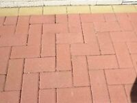 Monoblocks Paving, 930 Red, and 119 Buff