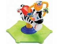 BOUNCE AND SPIN ZEBRA