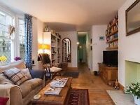 Garden flat full of character with two sweet cats - short stay