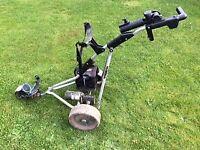 Powakaddy Freeway Titanium Golf Trolley