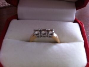 PAST PRESENT FUTURE RING SIZE 7