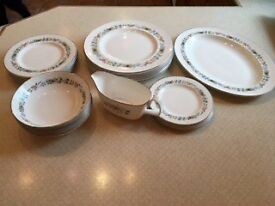 Royal Doulton Pastorale Crockery Dinner Set - Amazing Condition