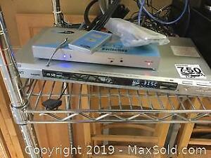 Sony DVD Player And More A