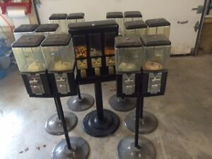 7 Candy and Gumball Vending Machines