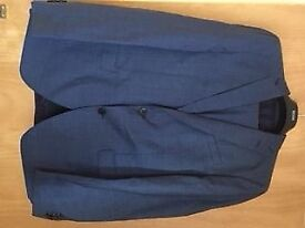 HUGO BOSS MEN SUIT MEDIUM BLUE - BRAND NEW
