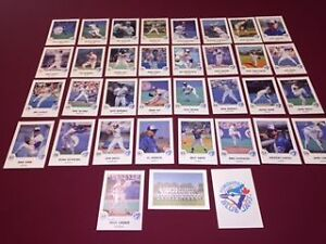 1988 Toronto Star Large Blue Jays Photo Card Set with  Autograph Kitchener / Waterloo Kitchener Area image 1