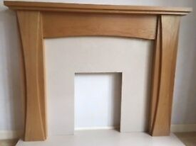 Solid Oak Fire Surround in Excellent Condition