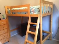 Twin bunk bed for sale in excellent condition