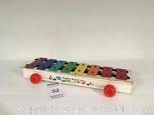 Vintage Fisher Price Toy - Pickup A