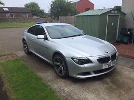 BMW 635D Coupe low mileage good condition