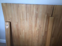 Ikea Oak wood dining table in new condition
