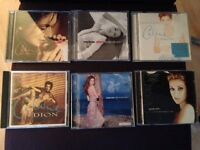 6 Celine Dion CD's