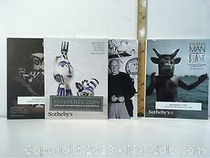 Picasso Assorted art sale Catalogues.