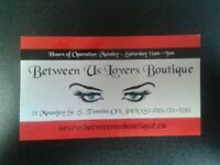 BETWEEN US LOVERS BOUTIQUE INC.