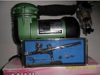 air compressor air brush kit swap only not free