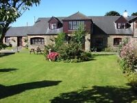 Bude Cornwall 4 Bed Barn Conversion Exclusive use of pool and sauna and games room accommodates 9