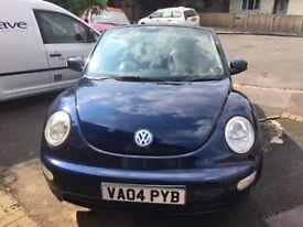 VW Beetle Convertible - NO MOT