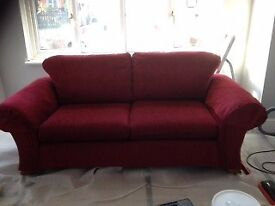 M&S Sofa, two chairs and footstool