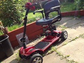 mobility scooter.Aerolite plus