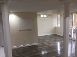 Walkout basement for rent