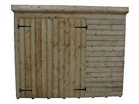 NEW GARDEN STORAGE/BIKE SHED 6x4x5h £235