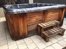 Western red cedar portable spa: 7 seat, heated, 42 jets Perth Region Preview