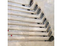 Set of 8 Apex 'Golf Hogan' Golf Clubs