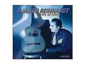 Django Reinhardt- Swing De Paris- *4 Disc CD, Box Set* (ORIGINAL)