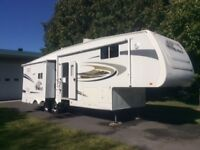 Roulotte fifth wheel 35', Jayco 291 RLTS Eagle 2007, non fumeurs