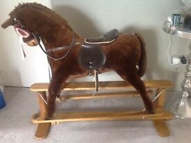 Mamas and Papas Rocking Horse 6yrs+ GREAT condition £120 ONO