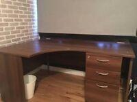 Solid Oak Office Desk