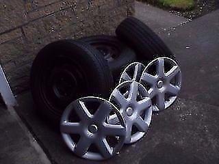 Mazda 323F Original Steel Wheels