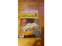 15 A4 laminating sheets. Unopened pack. 80p