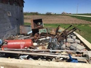Free scrap metal removal for Wallaceburg an area