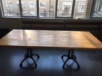 Large wooden kitchen table. Very good condition
