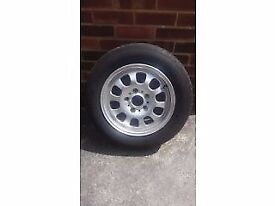 "BMW 3series E46 15"" spare alloy wheel 1094499 with new 195/65 R15 tyre"