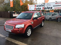 2009 LANDROVER FREELANDE 2 GS 2.2L Td4e FULL SERVICE HISTORY, 2 OWNERS