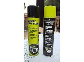 400ml spray cans. copper antiseize, clear grease, service lube.............