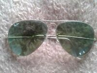 aviator ray bann sub glasses