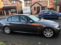 BMW 3srs M sport 4 door Auto Diesel. One owner from new, MOT till April. Great car, Leather