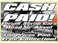 Wanted cars nearly out of mot or no mot best prices paid