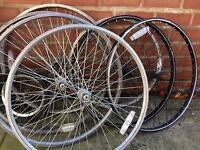 Bike front wheels rims