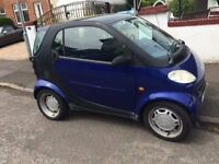 LEFT HAND DRIVE Smart Car City Passion 600cc Auto - Full year MOT - EXCELLENT CONDITION -